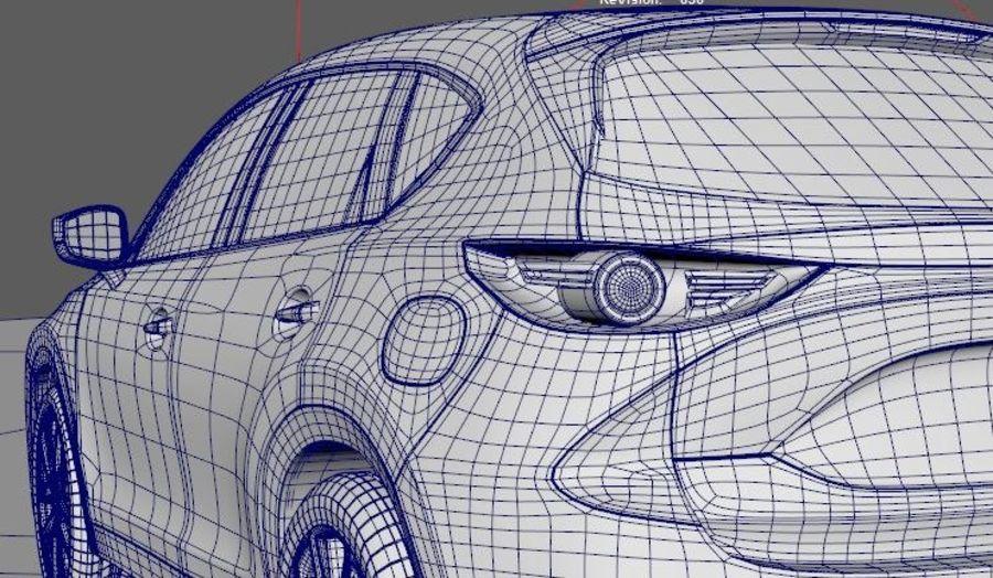 Mazda CX 5 royalty-free 3d model - Preview no. 10