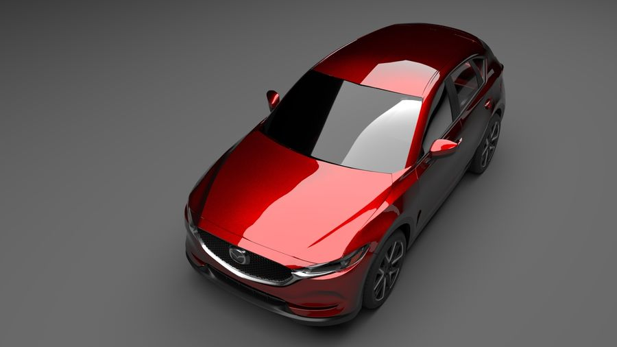 Mazda CX 5 royalty-free 3d model - Preview no. 2