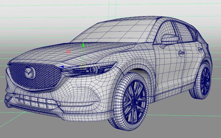 Mazda CX 5 royalty-free 3d model - Preview no. 6