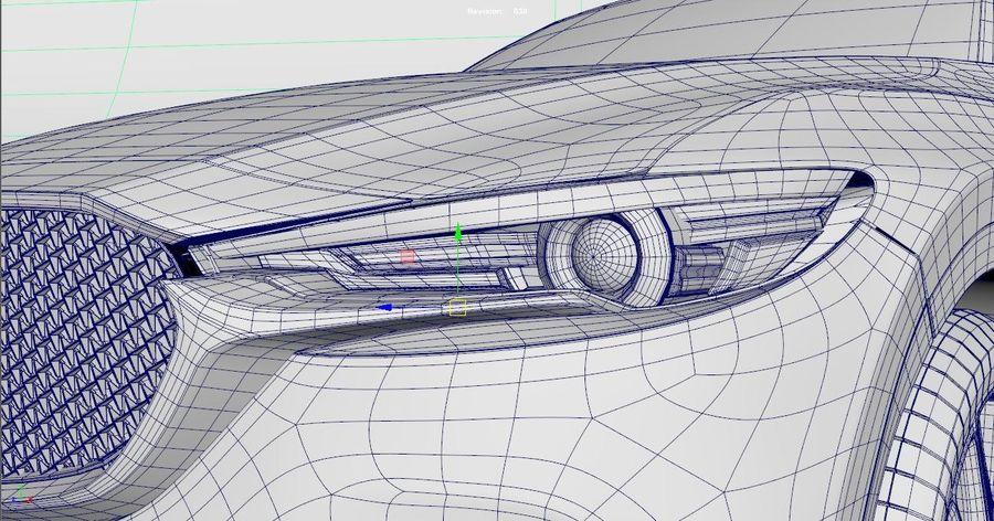 Mazda CX 5 royalty-free 3d model - Preview no. 8