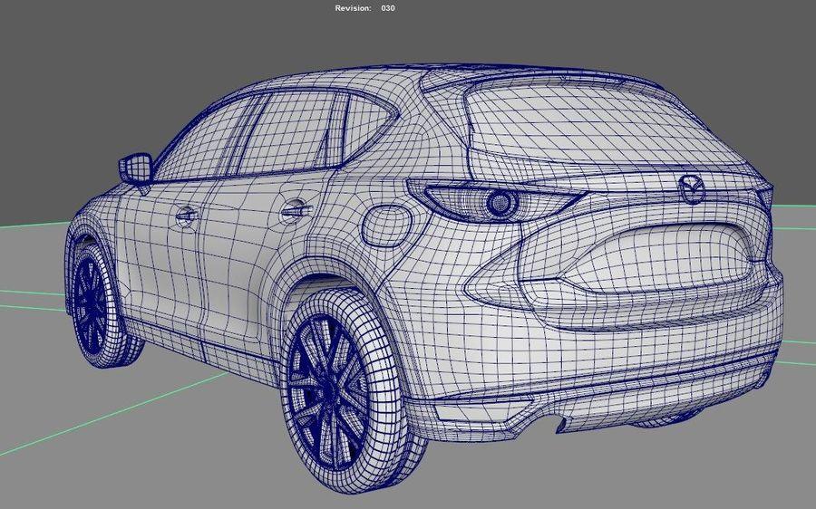 Mazda CX 5 royalty-free 3d model - Preview no. 7