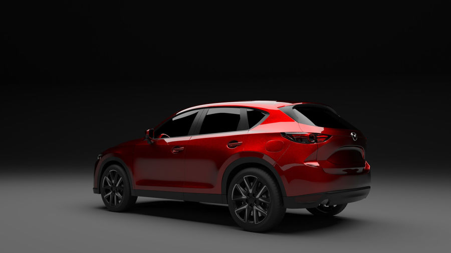 Mazda CX 5 royalty-free 3d model - Preview no. 4