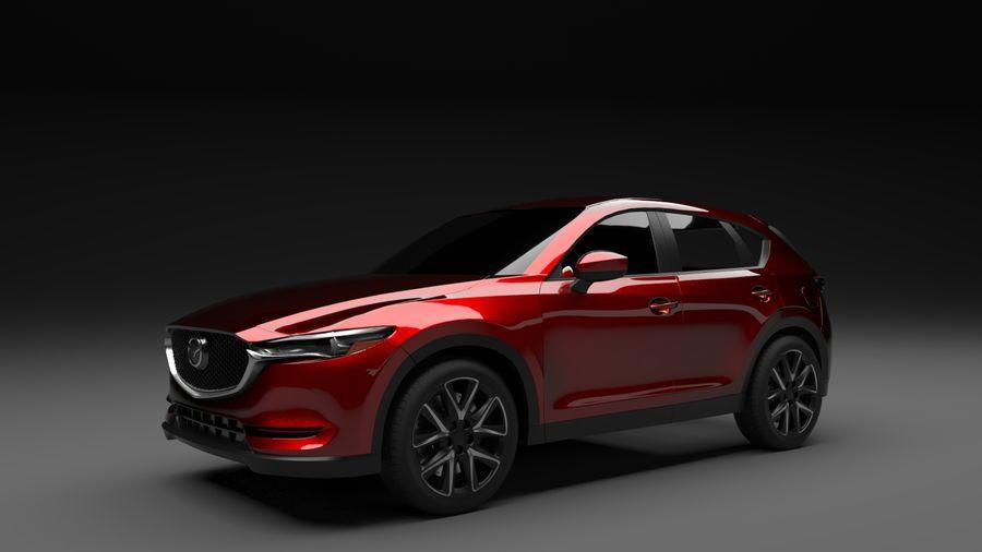 Mazda CX 5 royalty-free 3d model - Preview no. 3
