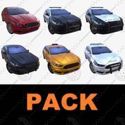 Pack voiture 01 3d model