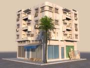 Arab House Animated HD 3d model