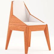 의자 삼총사 3d model