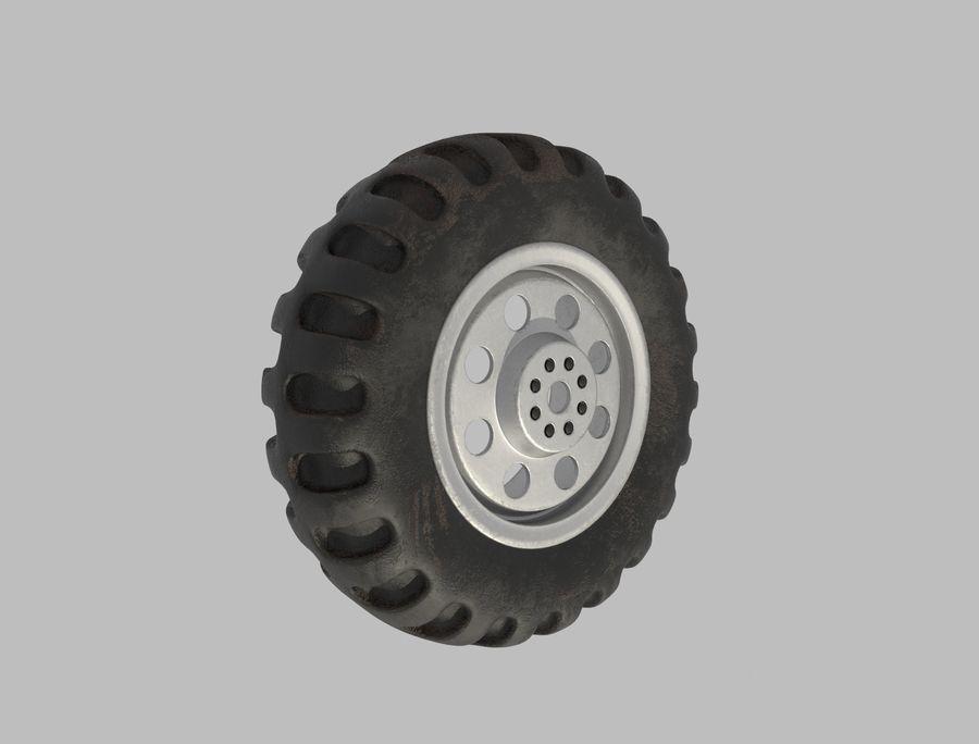 roda (1) royalty-free 3d model - Preview no. 1