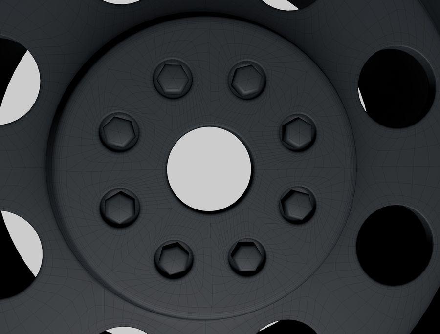 roda (1) royalty-free 3d model - Preview no. 9