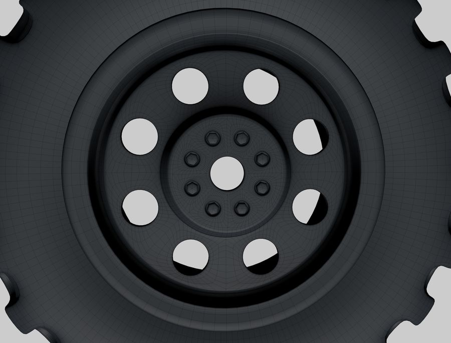 roda (1) royalty-free 3d model - Preview no. 10