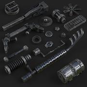 detal STARY metal 3d model