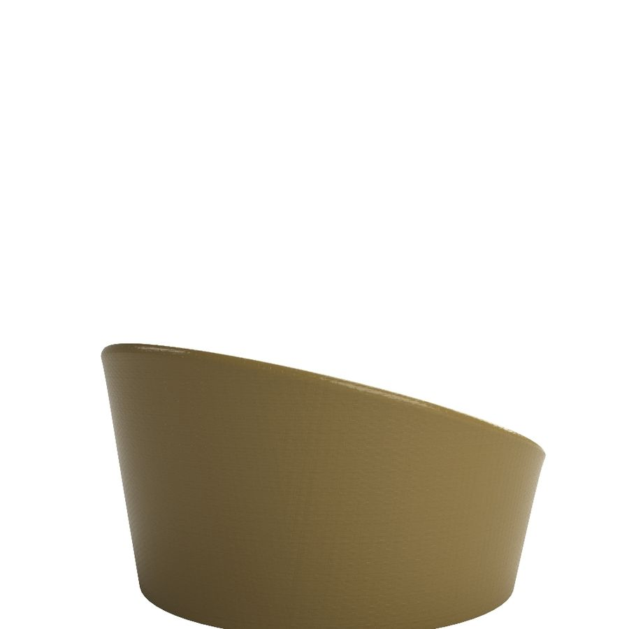 Chaise Goa Tidelli royalty-free 3d model - Preview no. 5