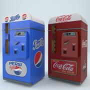 Cola Pepsi Automaat 3d model