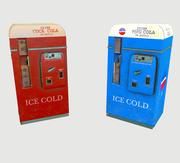 Distributore automatico Cola Pepsi 3d model