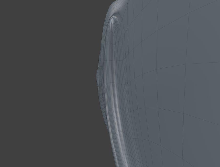 金の魚のアニメーション royalty-free 3d model - Preview no. 12