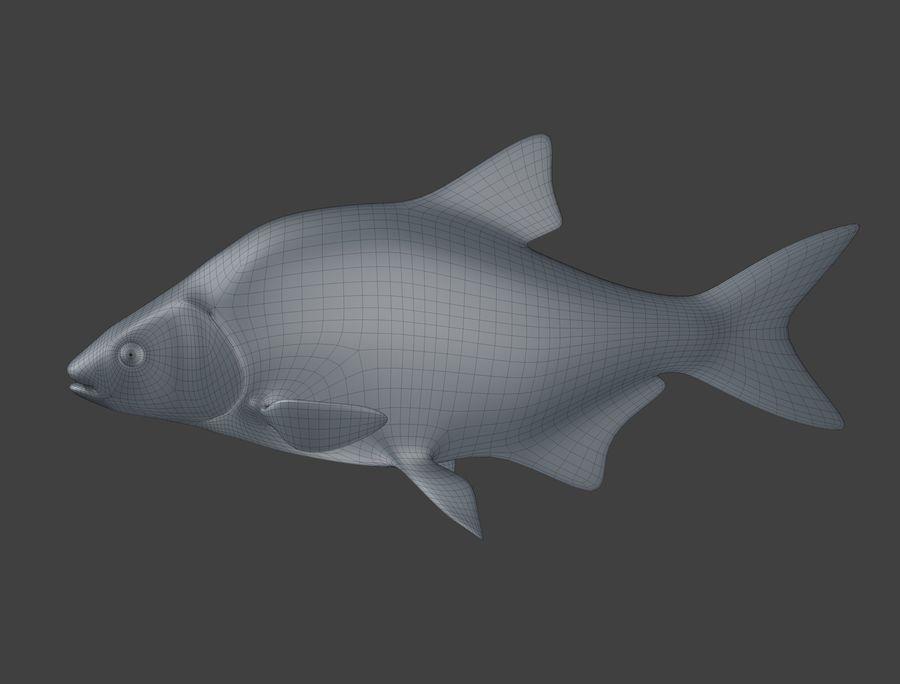 金の魚のアニメーション royalty-free 3d model - Preview no. 16