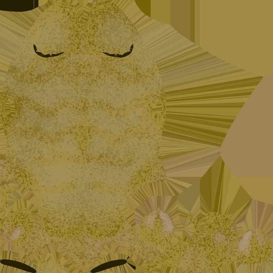 金の魚のアニメーション royalty-free 3d model - Preview no. 22