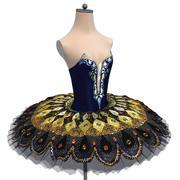 """tutú para ballet la """"hija de los faraones"""" modelo 3d"""