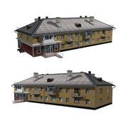 Wohngebäude mit Geschäften 3d model
