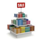 Books on Sale 3d model