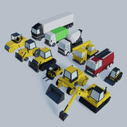 Специальные транспортные средства 3d model