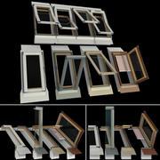 Ventanas de techo, mansarda modelo 3d