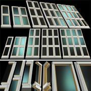 Okna dachowe, świetliki 3d model