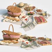 野餐 3d model