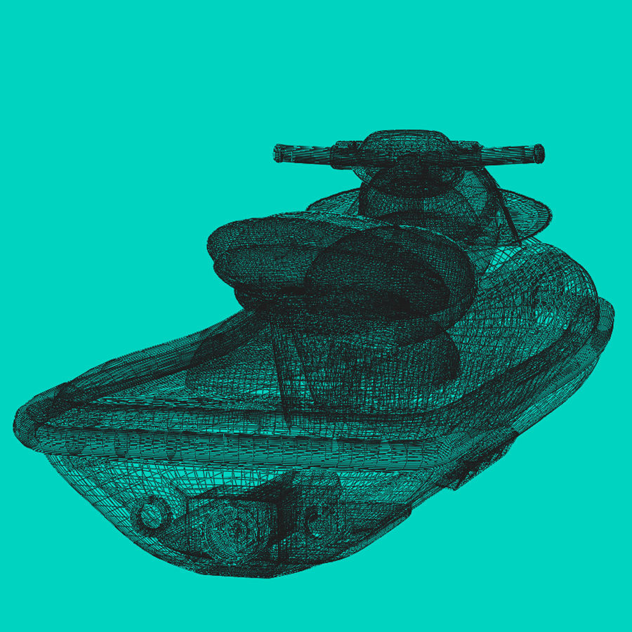 Personal Watercraft royalty-free 3d model - Preview no. 14