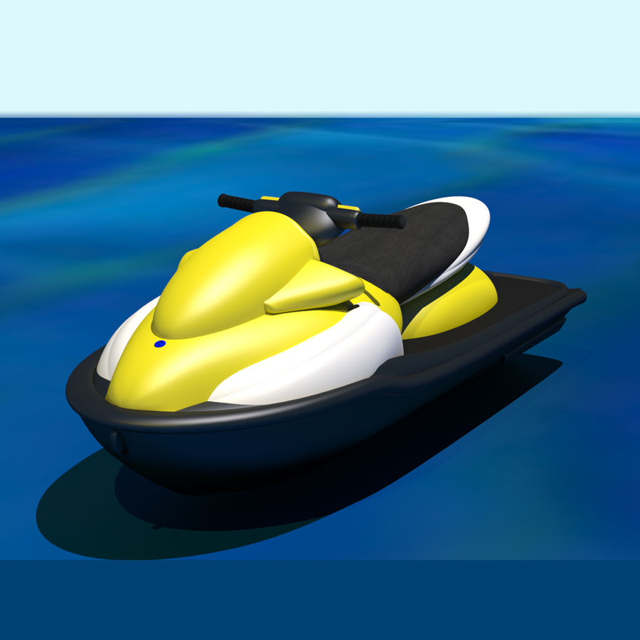 Personal Watercraft royalty-free 3d model - Preview no. 1