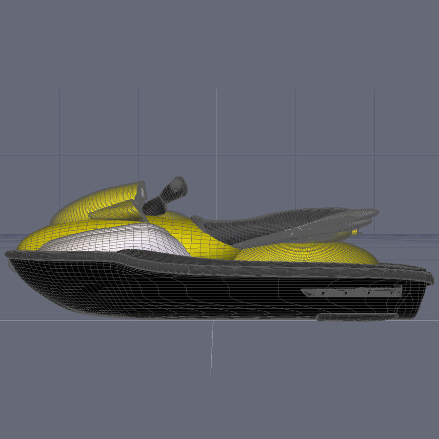 Personal Watercraft royalty-free 3d model - Preview no. 9