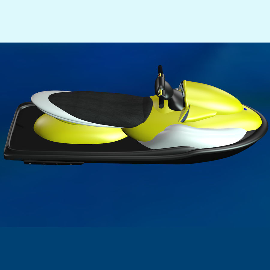 Personal Watercraft royalty-free 3d model - Preview no. 6