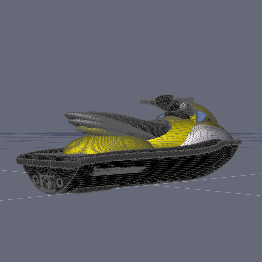 Personal Watercraft royalty-free 3d model - Preview no. 11