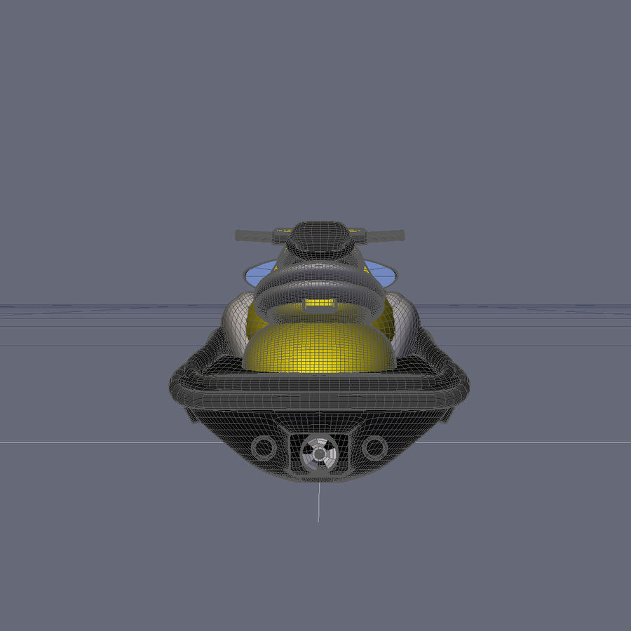 Personal Watercraft royalty-free 3d model - Preview no. 10
