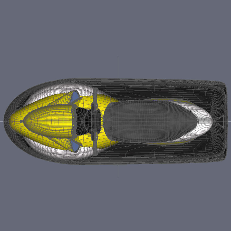 Personal Watercraft royalty-free 3d model - Preview no. 13