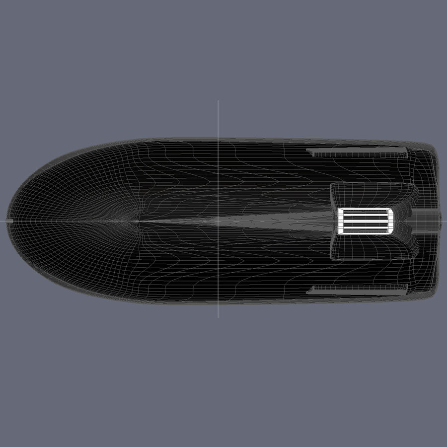 Personal Watercraft royalty-free 3d model - Preview no. 12