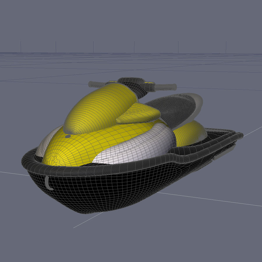 Personal Watercraft royalty-free 3d model - Preview no. 8