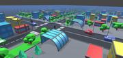 简单城市-低聚资产 3d model