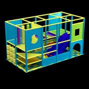 儿童游乐场 3d model