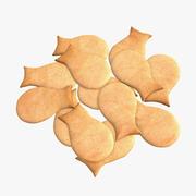 Рыбное печенье 3d model