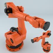 Kuka KR 180 Robot industriali 3d model