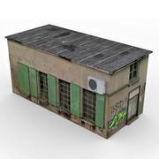 Stary dom slumsów 2 3d model