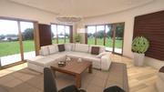 TMs Living Room Interior 3d model