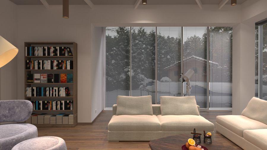 modernes Interieur royalty-free 3d model - Preview no. 5
