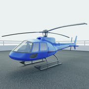 Simple Helicopter Model 3d model