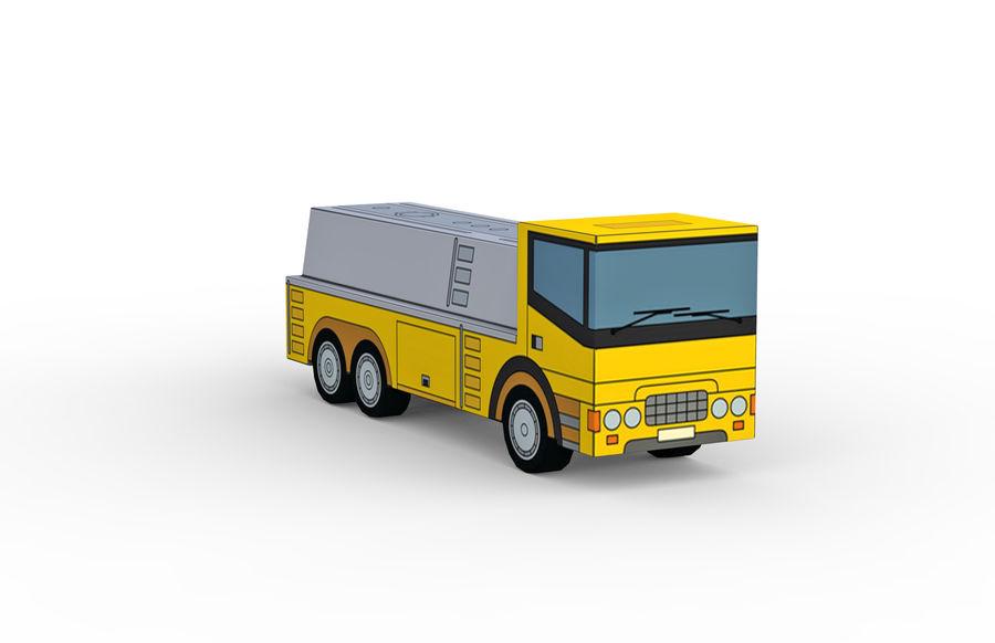 Modello 3D Autocisterna royalty-free 3d model - Preview no. 8