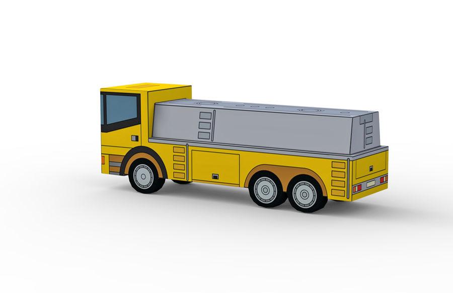 Modello 3D Autocisterna royalty-free 3d model - Preview no. 3