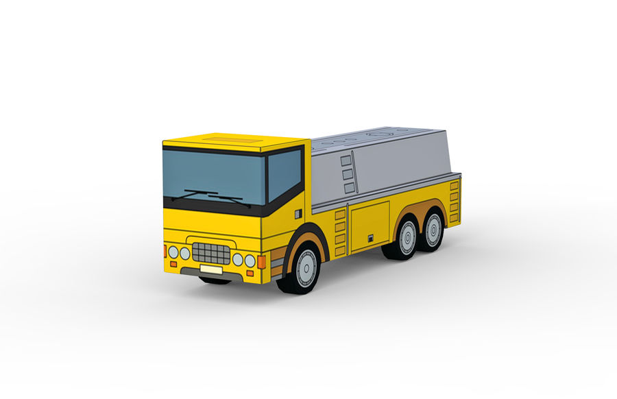 Modello 3D Autocisterna royalty-free 3d model - Preview no. 1