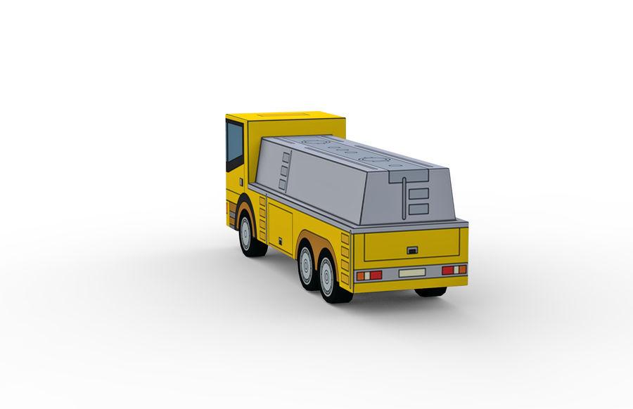 Modello 3D Autocisterna royalty-free 3d model - Preview no. 4