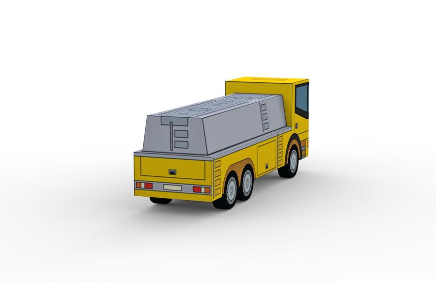 Modello 3D Autocisterna royalty-free 3d model - Preview no. 5