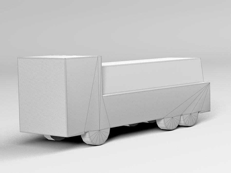 Modello 3D Autocisterna royalty-free 3d model - Preview no. 9